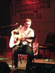 Garrett Collins at The Hummingbird Macon Ga