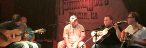 Garrett with Royal Johnson at The Hummingbird